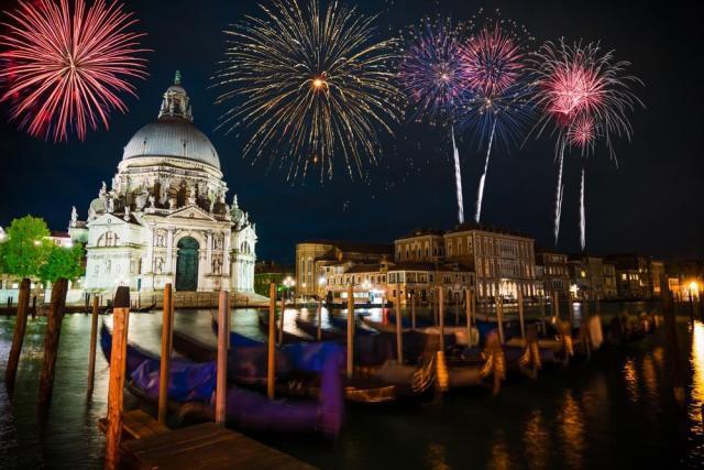 Novoroční romantická návštěva Benátek a Verony